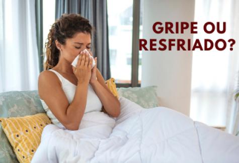 Gripe e resfriado são a mesma coisa?